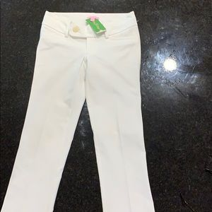Lilly Pulitzer NWT White Pants